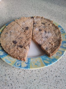 Choc chip shortbread