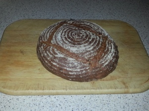 Apple & Walnut Rye Bread
